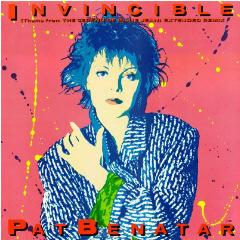 Pat Benatar Invincible Cover