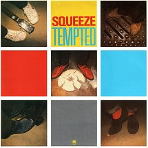 Squeeze Tempted Album Cover