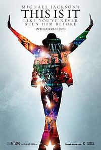 Michael Jackson's This Is It promo poster