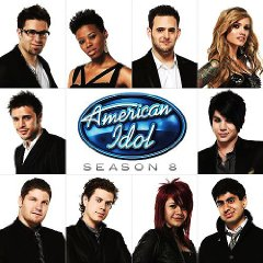 Allison Iraheta with her American Idol brethern
