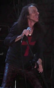 Ronnie Dio performing in 2008